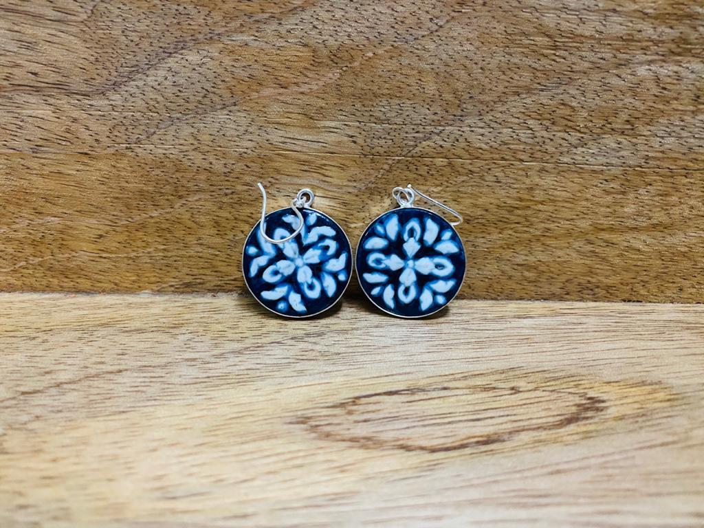 Ceramic Festive earrings